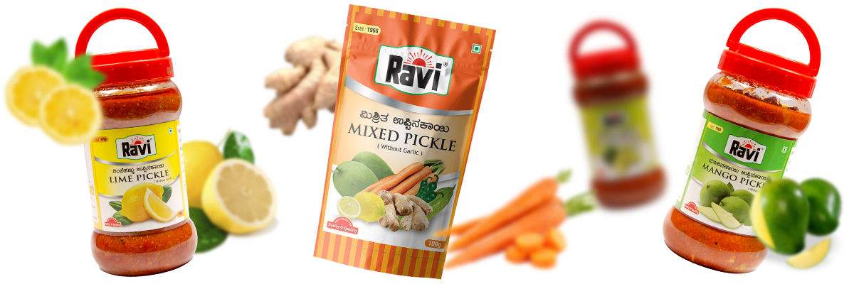 Pickles & Pastes | Welcome to Ravi Products
